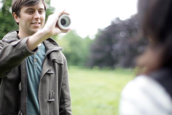 Control the Iris Concept Camera via Your Blinks