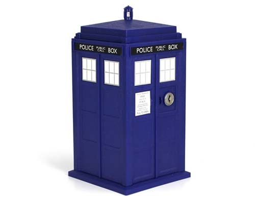 Doctor Who TARDIS Safe Money Bank