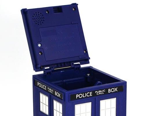 Doctor who tardis safe money bank gadgetsin - Tardis piggy bank ...