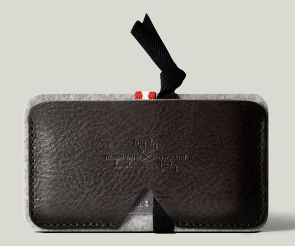 Hand Graft Leather Card Case