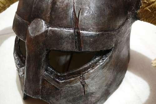 Handmade Skyrim Dragonborn Helmet