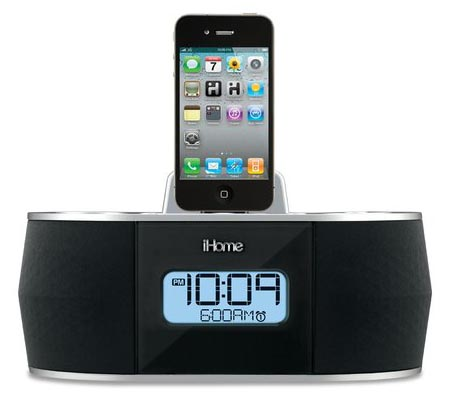 iHome iD38 Dock Speaker with Alarm Clock