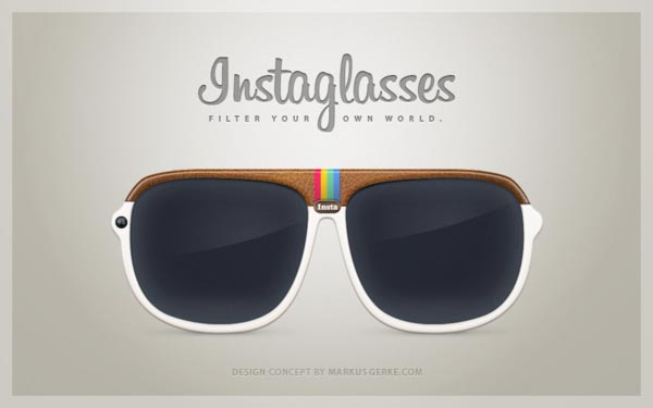 Instaglasses An Instagram Inspired Glasses