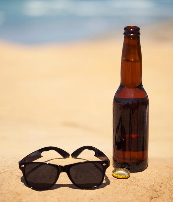JackHawk 9000 Sunglasses with Titanium Bottle Opener