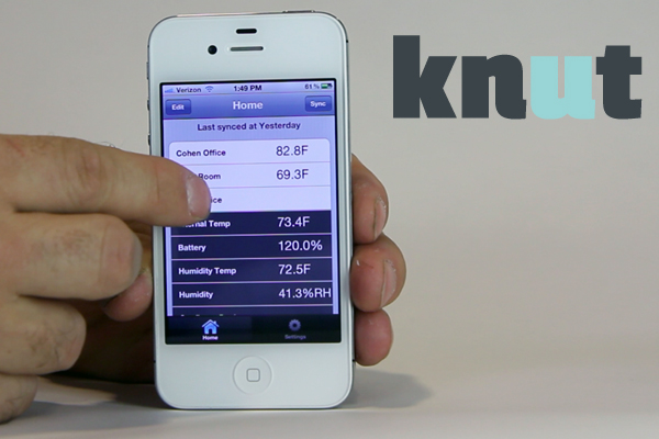 Knut An App-Powered Monitor for Your Home