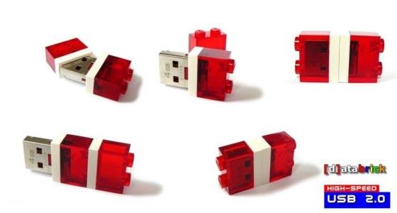 LEGO Brick USB Flash Drive with LED Light