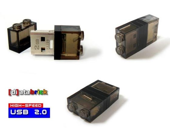 LEGO Brick USB Flash Drive with LED Light