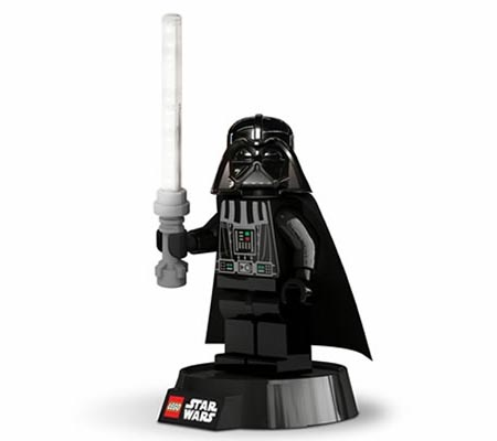 LEGO Star Wars Darth Vader Minifigure Desk Lamp