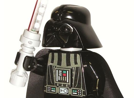 Lego Star Wars Darth Vader Minifigure Desk Lamp Gadgetsin