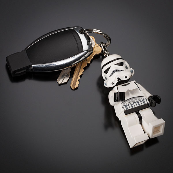LEGO Star Wars Stormtrooper Keychain with LED Light