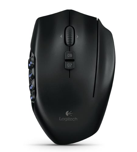Logitech G600 MMO Gaming Mouse Now Available