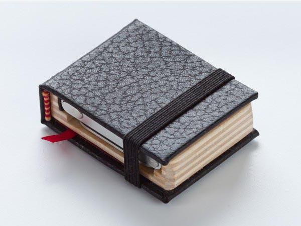 Pad&Quill The Littlest Black Book iPod Nano Case