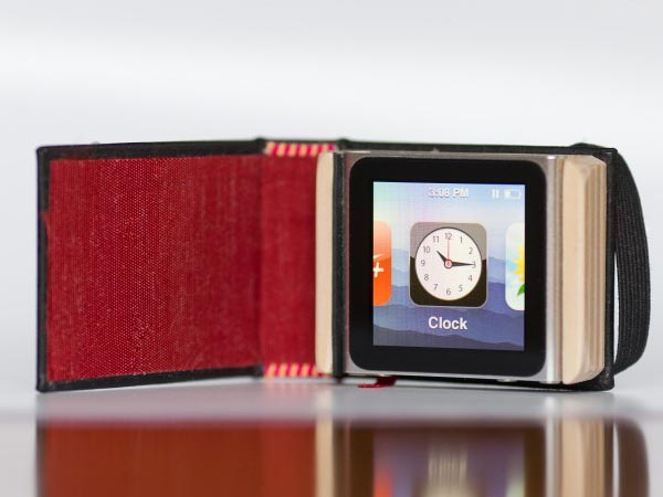 Pad&Quill The Littlest Black Book iPod Nano Case
