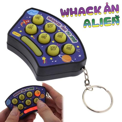Portable Whac-A-Mole Game Keychain