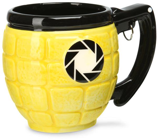 Portal 2 Combustible Lemon Grenade Mug