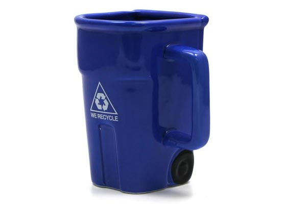 Cool Recycle Logo Recycle Bin Coffee Mug...