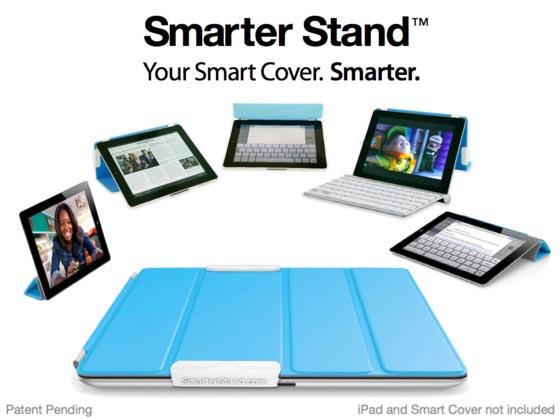 Smarter Stand for iPad Smart Cover and Smart Case