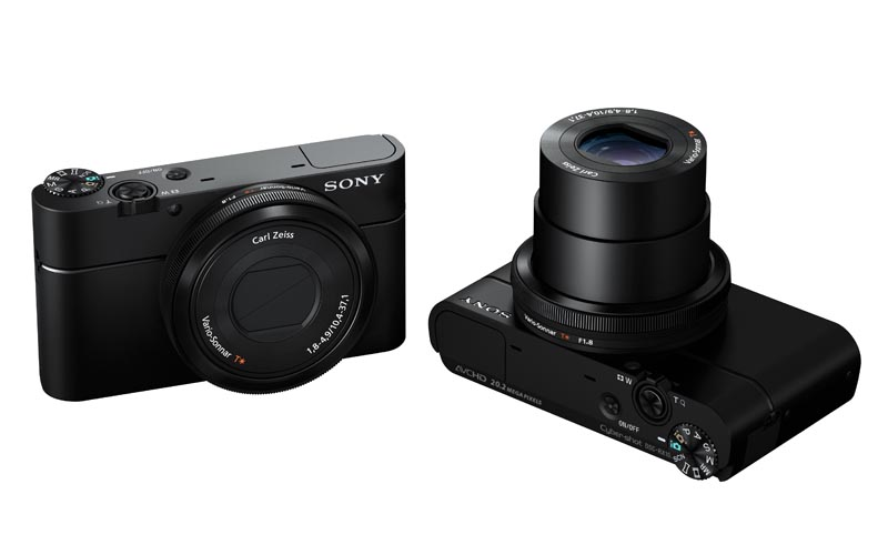 Sony Cyber-shot DSC-RX100 Compact Camera