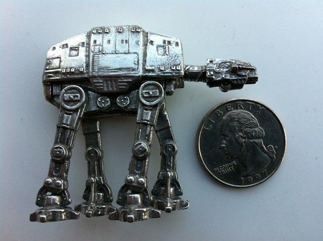 Star Wars AT-AT Walker Mini Model