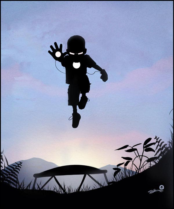 Superhero Kids Illustration Series by Andy Fairhurst