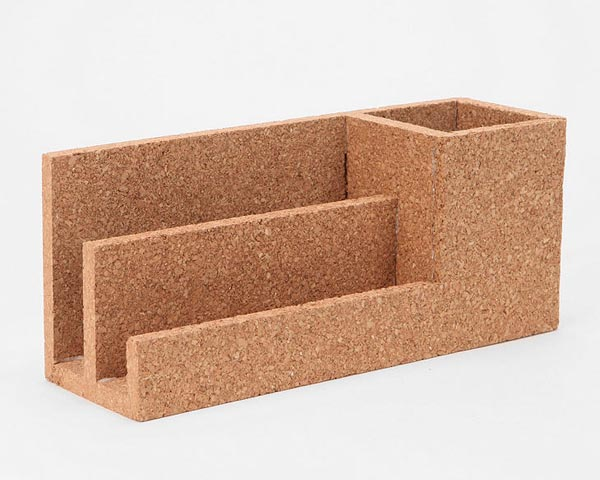 The Cork Desk Organizer