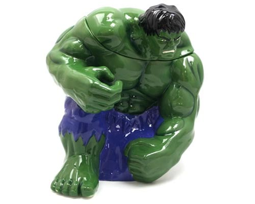 The Incredible Hulk Ceramic Cookie Jar