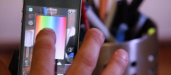 The Kick Pocket-Sized Customizable Light Box for iPhone