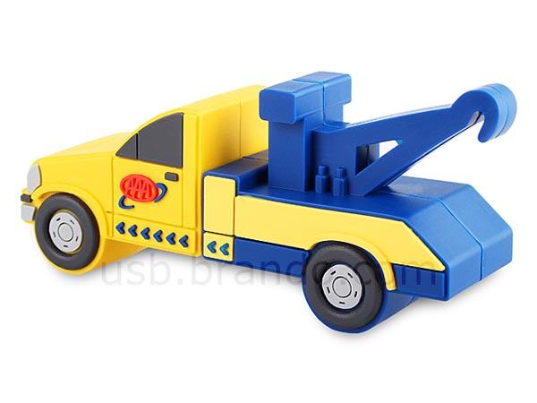 Tow Truck Shaped USB Flash Drive