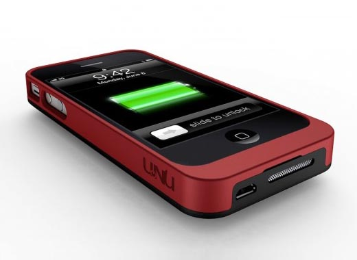 uNu Ex-Era Modular iPhone 4 Battery Case