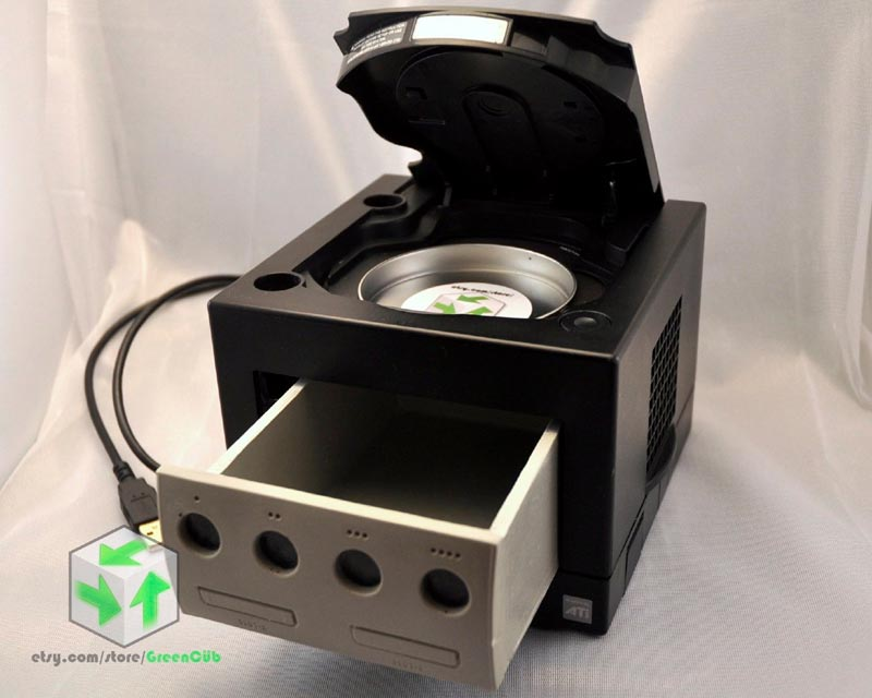 Upcycled GameCube Desk Organizer | Gadgetsin