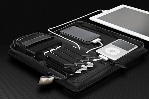 AViiQ Portable Charging Station with Cable Rack System