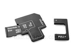 The Trio Micro SD(HC) Card Reader