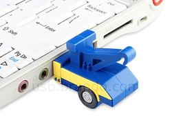 Tow Truck Shaped USB Flash Drive