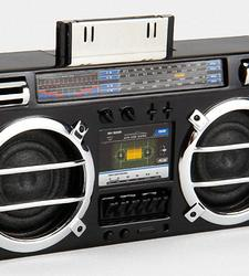 Mini Boombox Dock Speaker