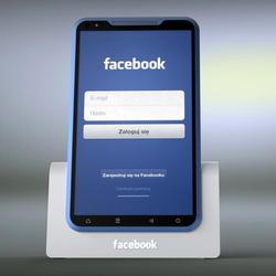 Bluephone Facebook Smartphone Design Concept