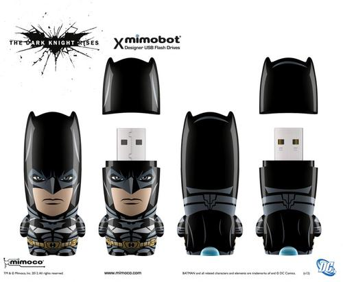 Mimoco The Dark Knight Rises Mimobot USB Flash Drive Series