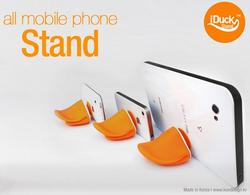 iDUCK Phone Stand Doubles As Cord Organizer