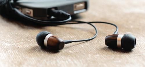 Griffin WoodTones Wooden Earbuds