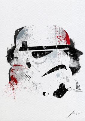 Star Wars Paint Splatter Posters