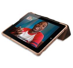 Handmade Wooden iPad 3 Case with Leather Cover