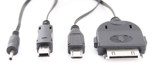 4-in-1 Multi Functional USB Charge Cable