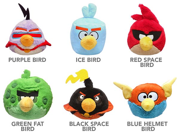 Angry Birds Space Plush Toy