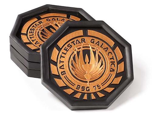 Battlestar Galactica Drink Coaster Set