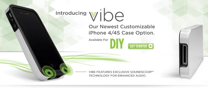 Case-Mate Vibe Customizable iPhone 4 Case