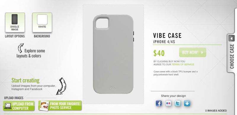 Case-Mate Vibe Customizable iPhone 4 Case