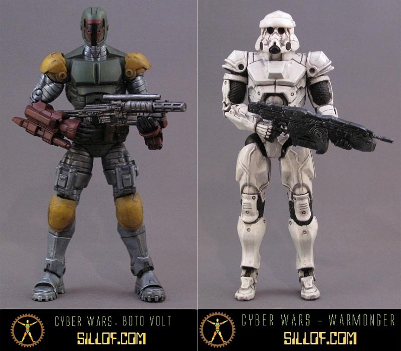 Cyber Wars An Awesome Star Wars Themed Action Figure