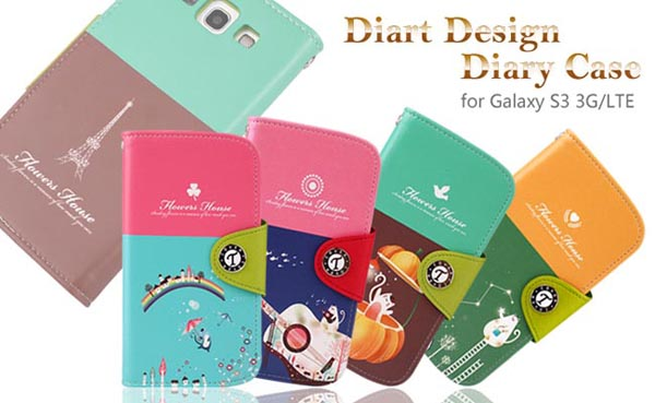 Diart Design Diary Styled Samsung Galaxy S3 Case