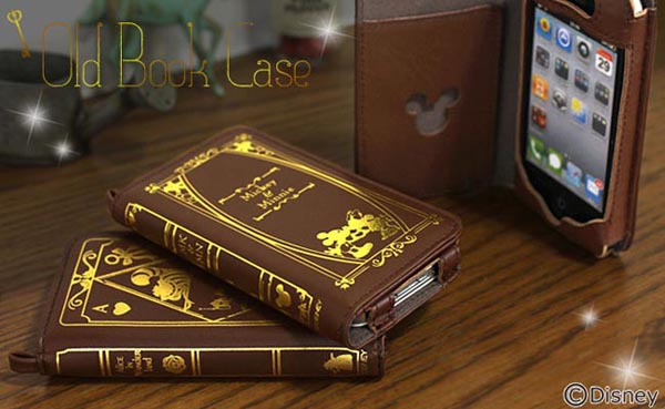 Disney Character Old Book iPhone 4 Case
