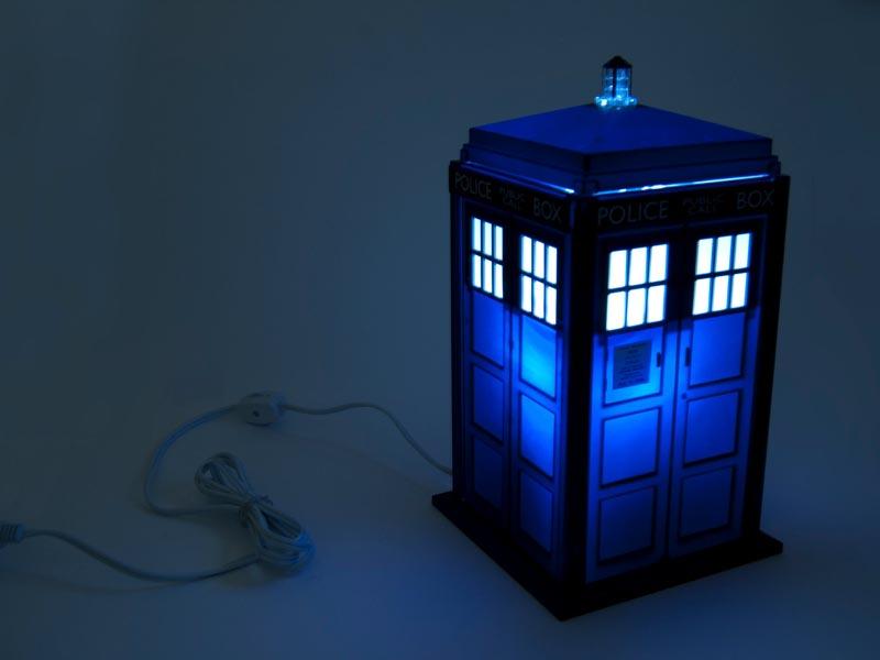 Doctor Who Tardis Night Light Gadgetsin