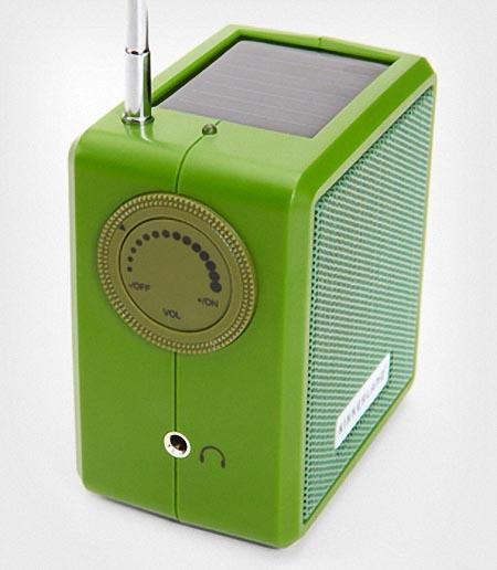 Dynamo Solar Radio With Hand Crank Gadgetsin